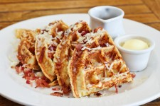 Waffles, Grits and Bacon