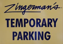Temporary Parking at Zingerman's Southside Businesses