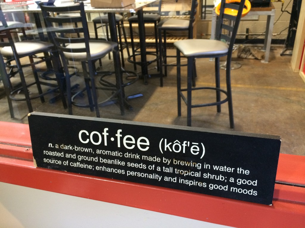 Definitions at Zingerman's Coffee Company