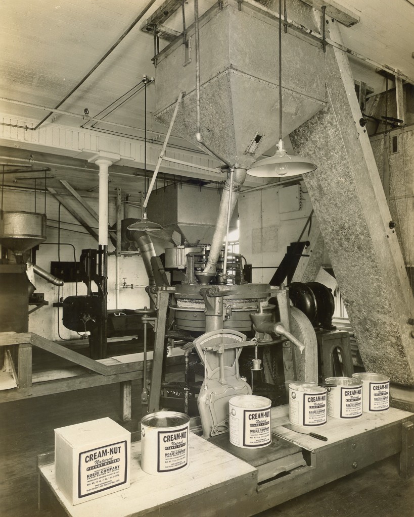 The Koeze Cream-Nut Peanut Butter factory, 1930.  It doesn't look exactly the same today, but it doesn't look so different, either.
