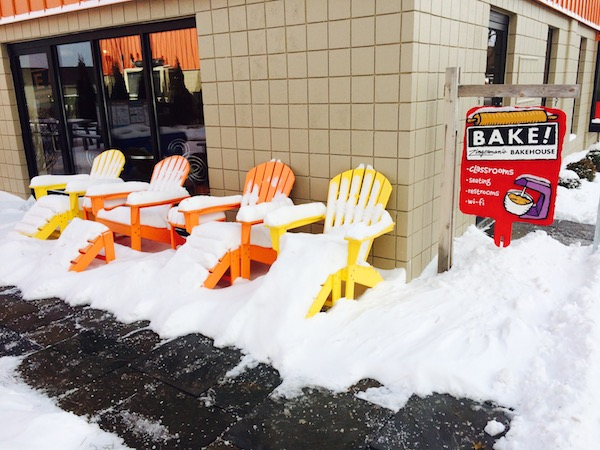 Chairs await spring