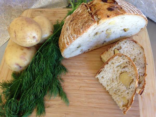 Potato-Dill bread