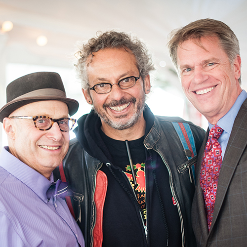 Paul Saginaw, Ari Weinzweig and Vic Strecher