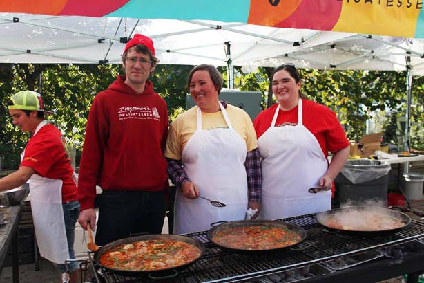 Looks like our Paella Pros had a good time!
