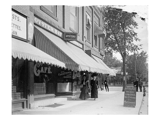 Dave Willit's Oyster Bay Catering circa 1905