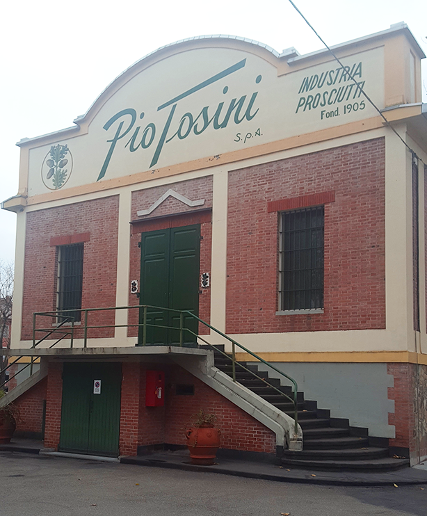 Pio Tosini is a prosciutto curing house that's been operated by the same family since 1906!