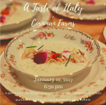 "Sicilian Chef Gioacchino Passalacqua Comes to Cornman Farms for ""A Taste of Italy"""