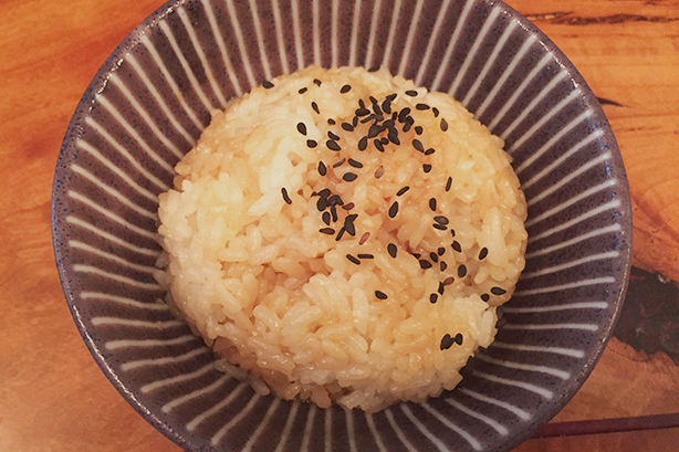 Soy Butter Rice