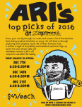 Our Favorite Event of the Season: Ari's Top Picks 2016