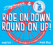 Ride On Down, Round On Up! for League of Michigan Bicyclists This Month at the Deli
