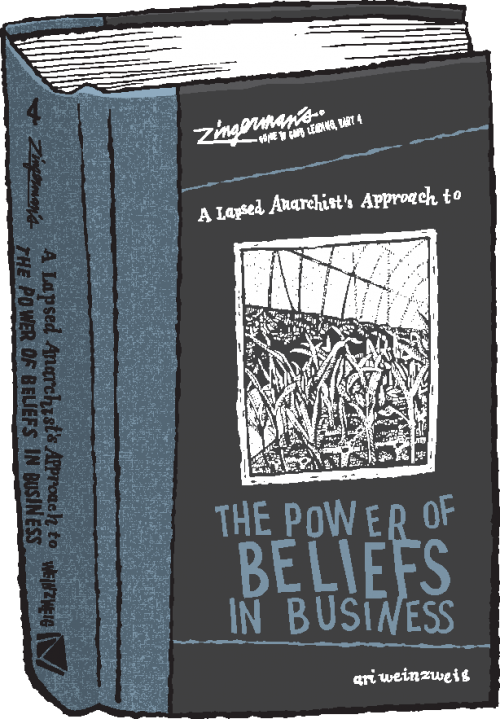Illustration of A Lapsed Anarchist's Approach to the Power of Beliefs in Business Part 4