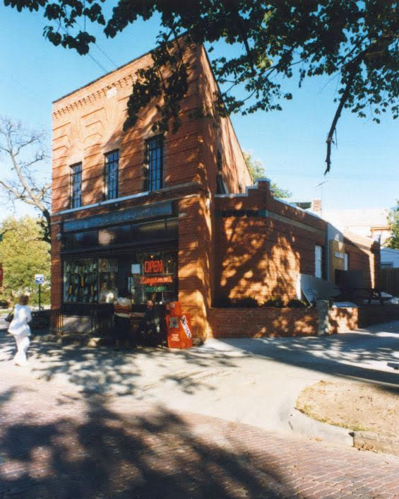 Zingerman Deli in 1987 past historic photo of Deli