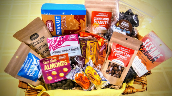 Win this $100 gift basket by visiting our candy store to sign up for our e-news through Sat., Aug. 31.
