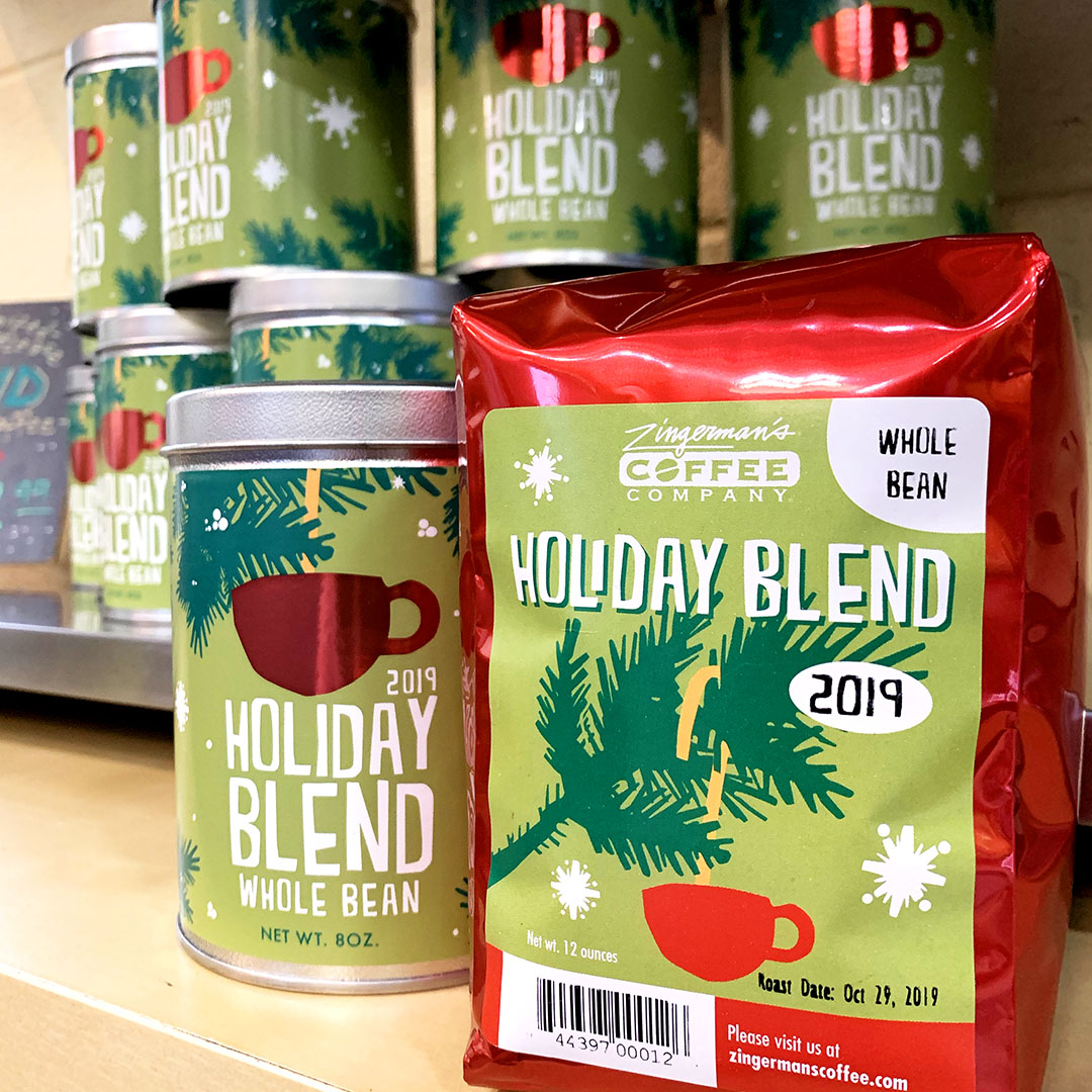 Holiday blend at Coffee