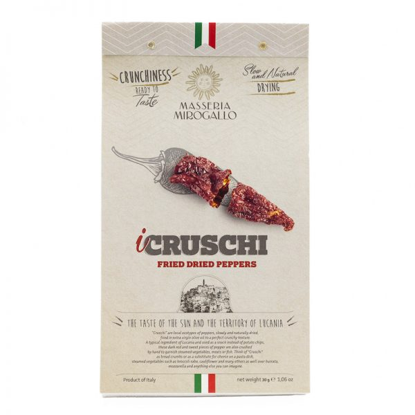 Cruschi: Crunchy Fried Sweet Peppers from Southern Italy